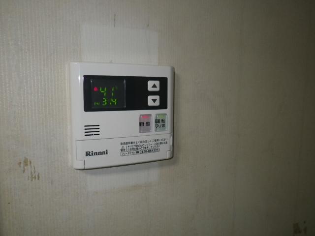 高温差し湯ガス給湯器取替工事 台所リモコン取替完了後。