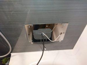 浴室テレビ用ケーブル