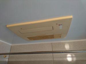 既設温水式暖房乾燥機