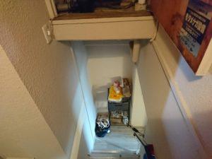 階段の反対側
