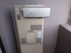 既設のガス暖房付き給湯器