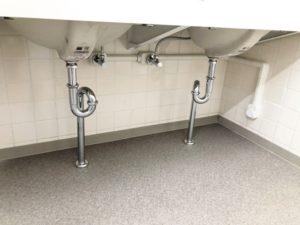 リフォームダクトで仕上げた給水管